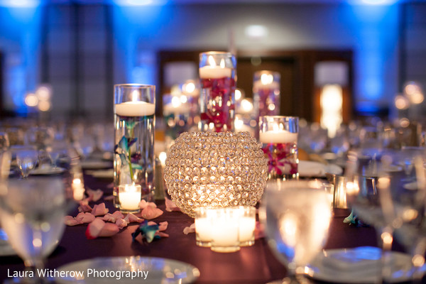 Floral & Decor in Chicago, IL Indian Fusion Wedding by Laura Witherow Photography