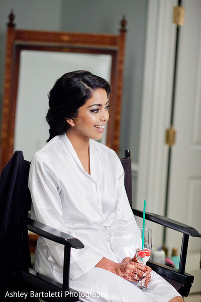 Getting Ready in Somerset, NJ Indian Fusion Wedding by Ashley Bartoletti Photography