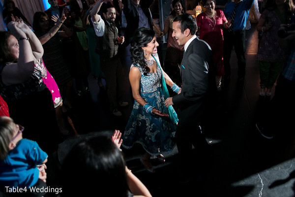 Sangeet in Dallas, TX Indian Fusion Wedding by Table4 Weddings