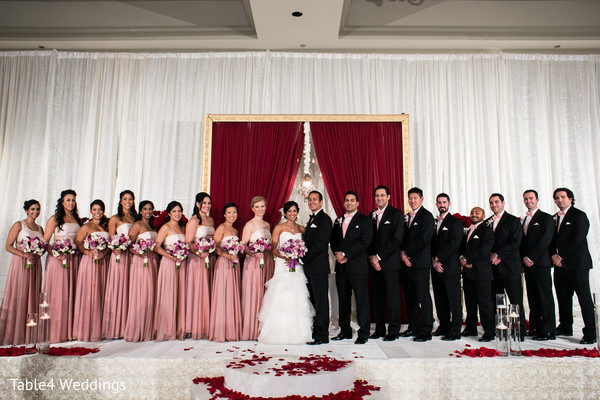 Portraits in Dallas, TX Indian Fusion Wedding by Table4 Weddings