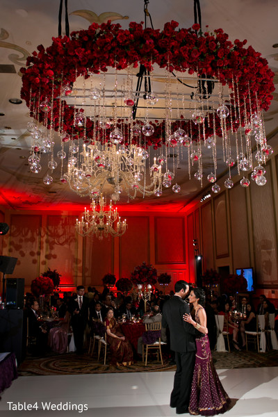 Reception in Dallas, TX Indian Fusion Wedding by Table4 Weddings