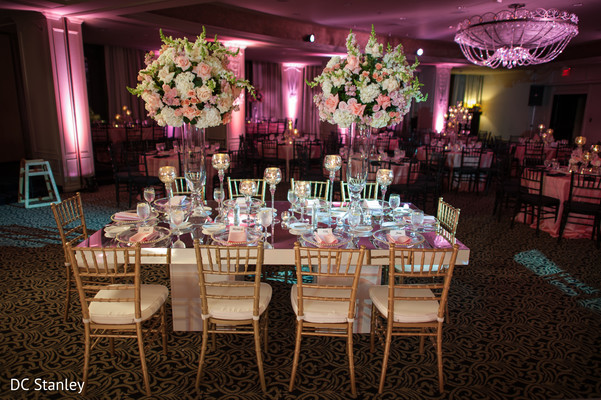 Floral & Decor in Houston, TX Indian Wedding by DC Stanley