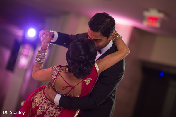 Reception in Houston, TX Indian Wedding by DC Stanley