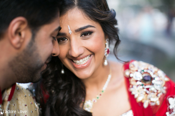 Portraits in New York, NY Indian Wedding by J'adore Love