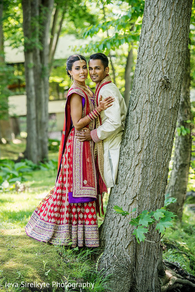 Portraits in Park Ridge, NJ Indian Wedding by Ieva Sireikyte Photography