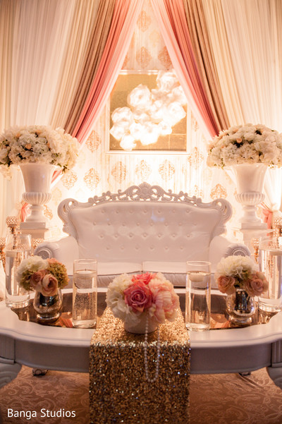 Floral & Decor in Ontario, Canada Indian Wedding by Banga Studios