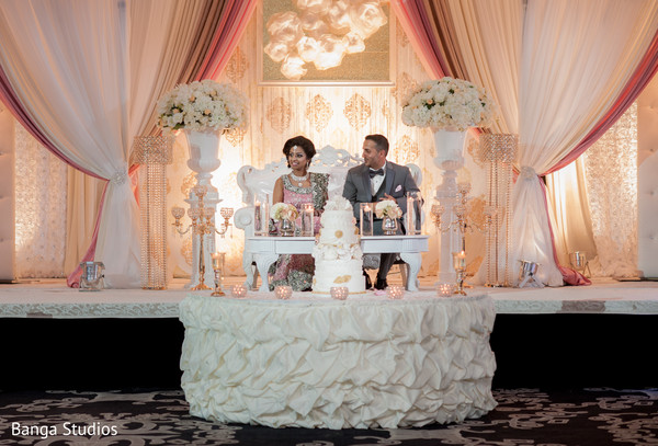 Reception in Ontario, Canada Indian Wedding by Banga Studios
