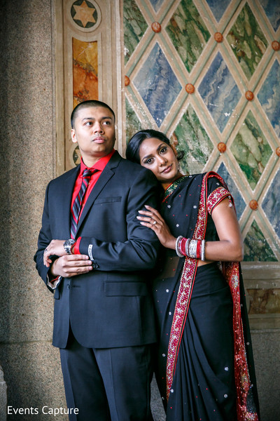 Pre-Wedding Portrait in Sands Point, NY Indian Wedding by Events Capture