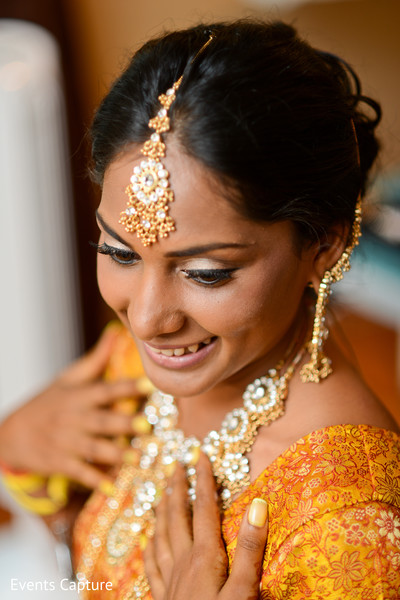 Getting Ready in Sands Point, NY Indian Wedding by Events Capture