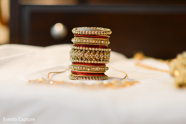 Bangles in Sands Point, NY Indian Wedding by Events Capture