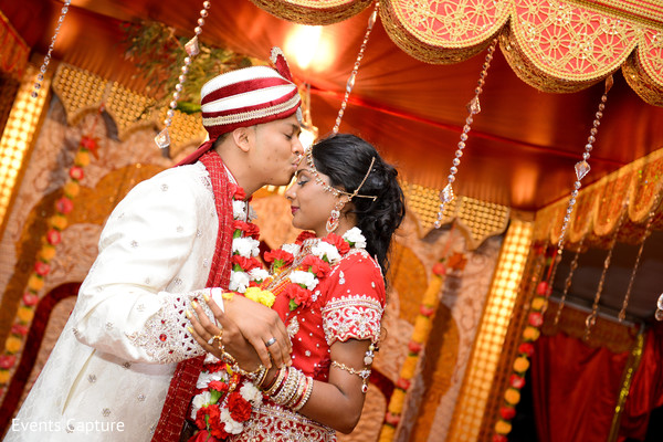 Ceremony in Sands Point, NY Indian Wedding by Events Capture