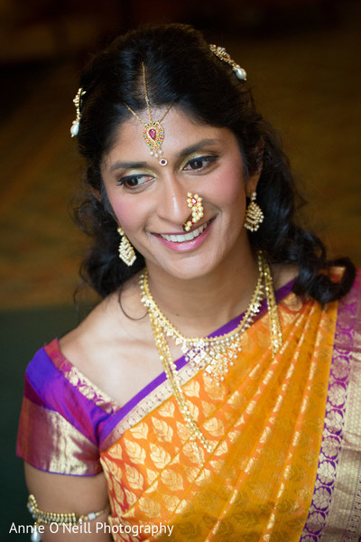 Bridal Portrait in Pittsburgh, PA Indian Fusion Wedding by Annie O'Neill Photography