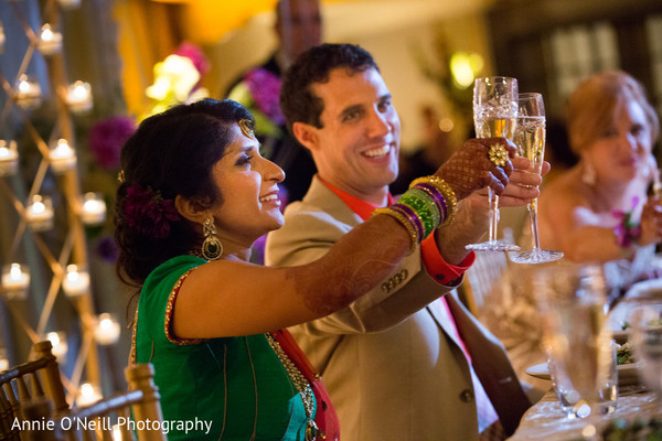 Reception in Pittsburgh, PA Indian Fusion Wedding by Annie O'Neill Photography