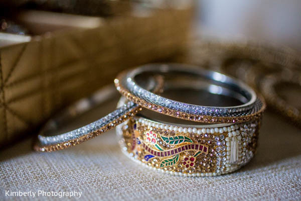 Bangles in Orlando, FL Indian Fusion Wedding by Kimberly Photography