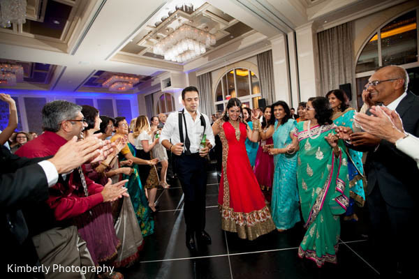 Reception in Orlando, FL Indian Fusion Wedding by Kimberly Photography
