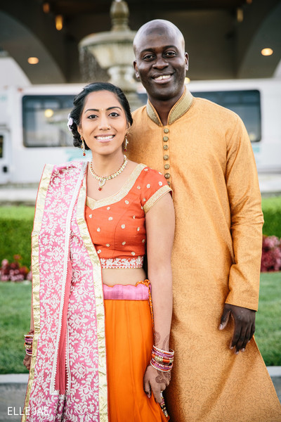 Pre-Wedding Portrait in San Jose, CA Fusion Wedding by Singar Studio & Elle Jae Photography