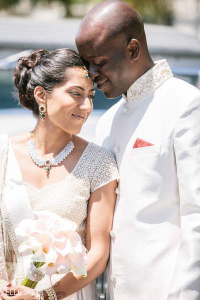 Wedding Portrait in San Jose, CA Fusion Wedding by Singar Studio & Elle Jae Photography