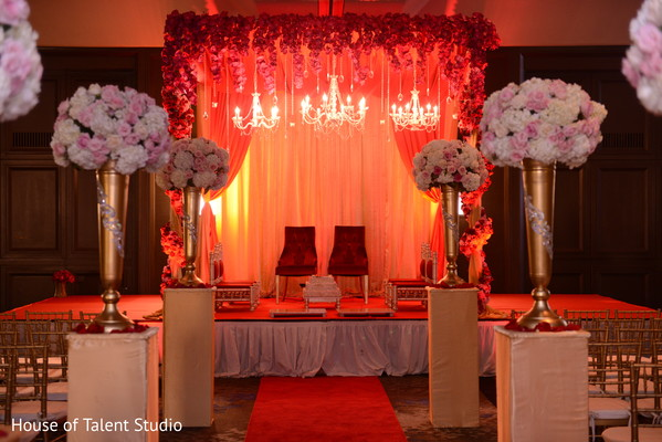 Ceremony in Parsippany, NJ Indian Wedding by House of Talent Studio