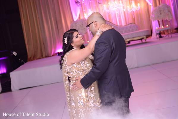 Reception in Parsippany, NJ Indian Wedding by House of Talent Studio