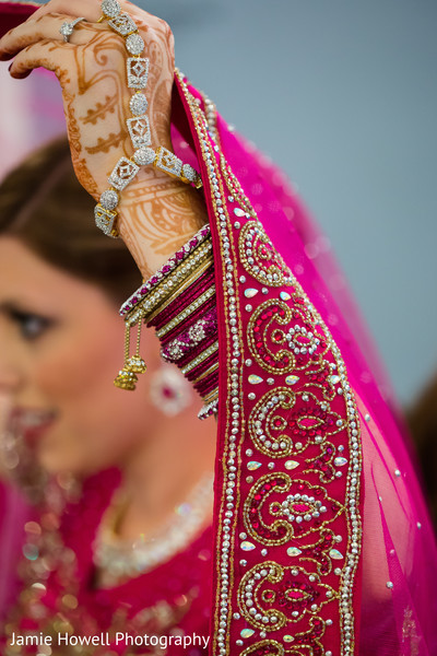 Getting Ready in Savannah, GA Indian Fusion Wedding by Jamie Howell Photography