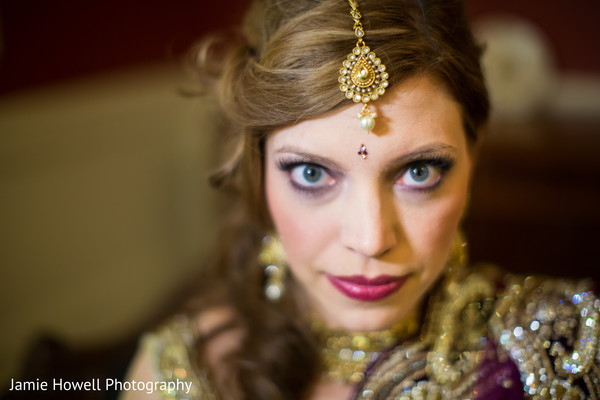 Hair & Makeup in Savannah, GA Indian Fusion Wedding by Jamie Howell Photography