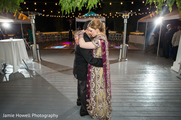 First Dance in Savannah, GA Indian Fusion Wedding by Jamie Howell Photography