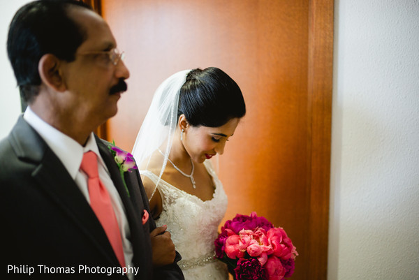 Ceremony in Houston, TX Indian-Christian Wedding by Philip Thomas Photography