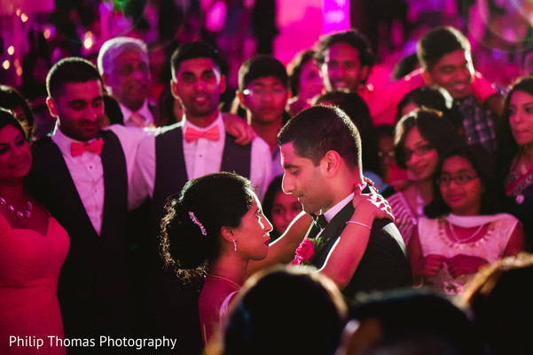 Reception in Houston, TX Indian-Christian Wedding by Philip Thomas Photography