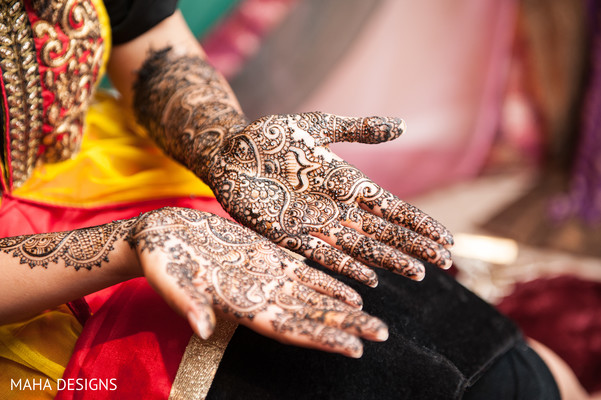 Mehndi in Chicago, IL South Asian Wedding by Maha Designs