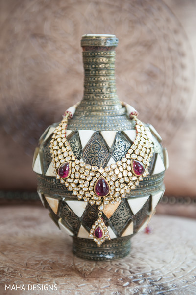 Bridal Jewelry in Chicago, IL South Asian Wedding by Maha Designs