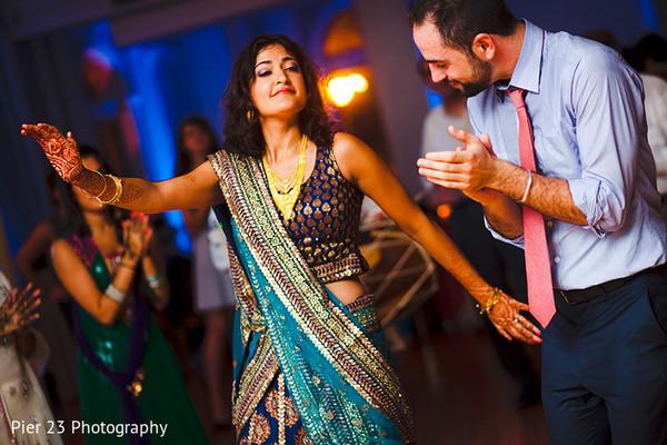 Sangeet In Washington DC Indian Jewish Fusion Wedding By Pier 23 Photography