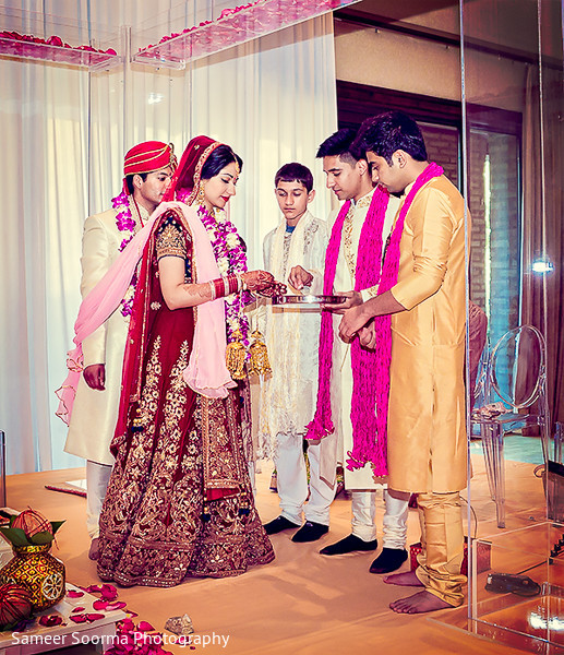 Ceremony in Marana, AZ Indian Wedding by Sameer Soorma Studios