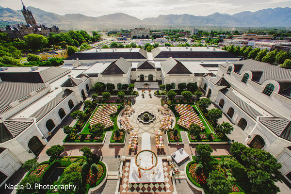 Venue in Salt Lake City, UT Indian Wedding by Nadia D. Photography