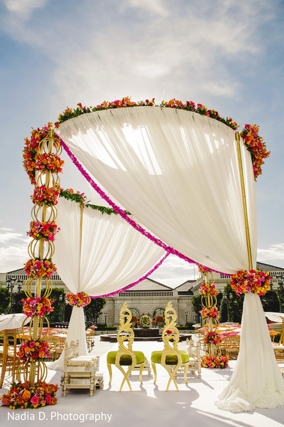 Floral & Decor in Salt Lake City, UT Indian Wedding by Nadia D. Photography