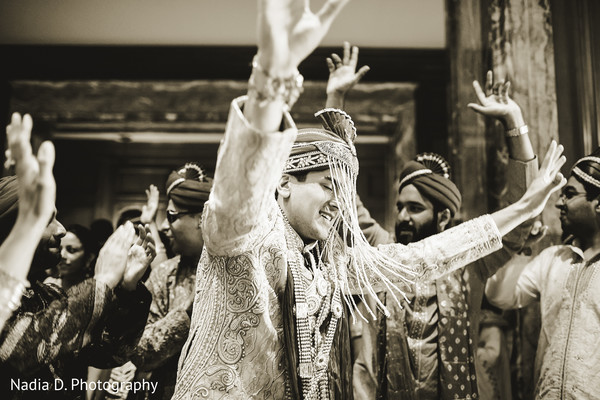 Baraat in Salt Lake City, UT Indian Wedding by Nadia D. Photography