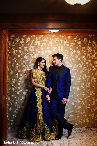 Reception Portrait in Salt Lake City, UT Indian Wedding by Nadia D. Photography