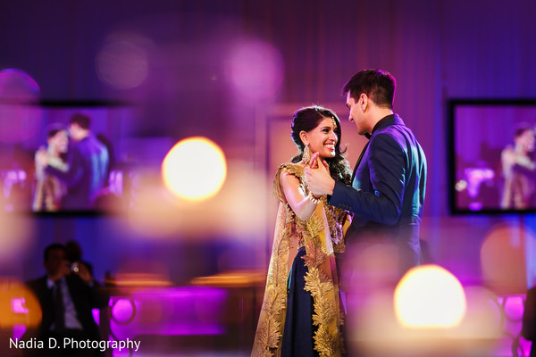 Reception in Salt Lake City, UT Indian Wedding by Nadia D. Photography