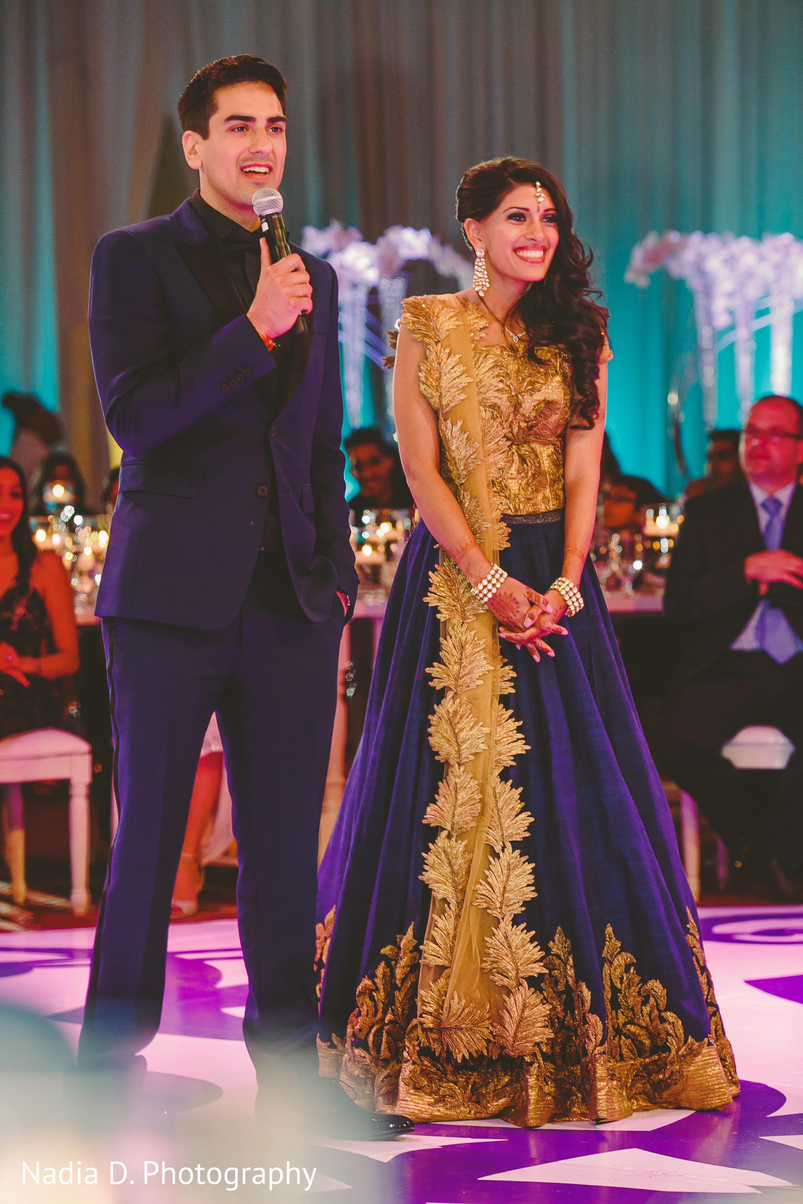Reception In Salt Lake City Ut Indian Wedding By Nadia D