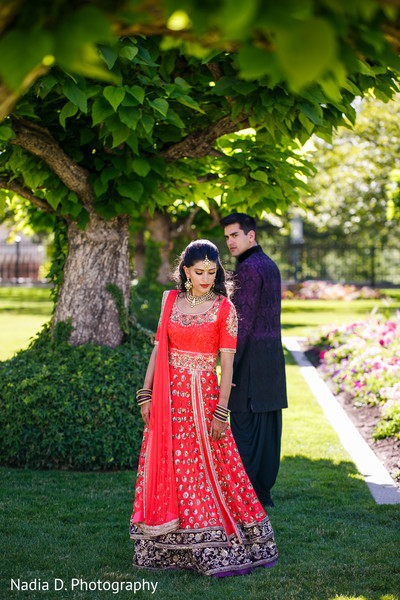 Pre-Wedding Portrait in Salt Lake City, UT Indian Wedding by Nadia D. Photography