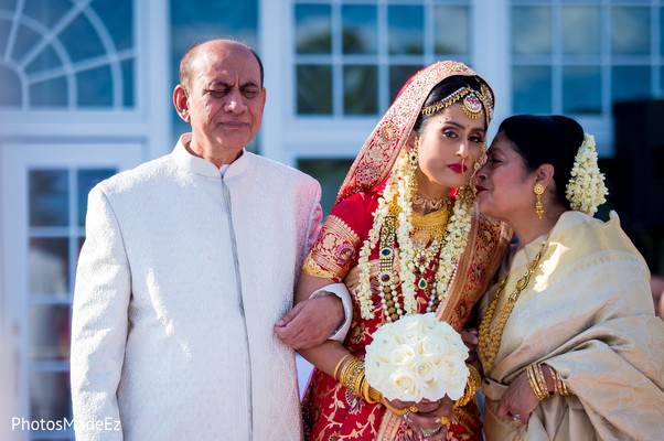 Ceremony in New Rochelle, NY South Asian Wedding by PhotosMadeEz
