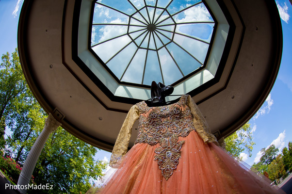 Lengha in New Rochelle, NY South Asian Wedding by PhotosMadeEz