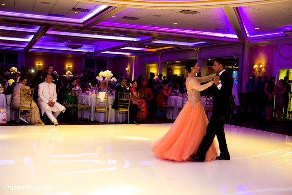 Reception in New Rochelle, NY South Asian Wedding by PhotosMadeEz