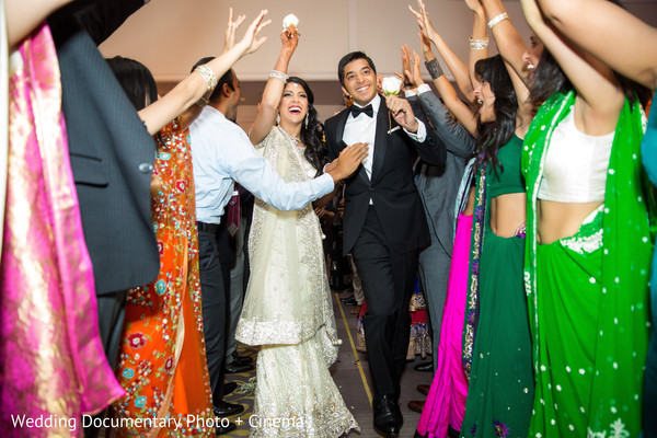 Reception in San Jose, CA Indian Wedding by Wedding Documentary Photo + Cinema