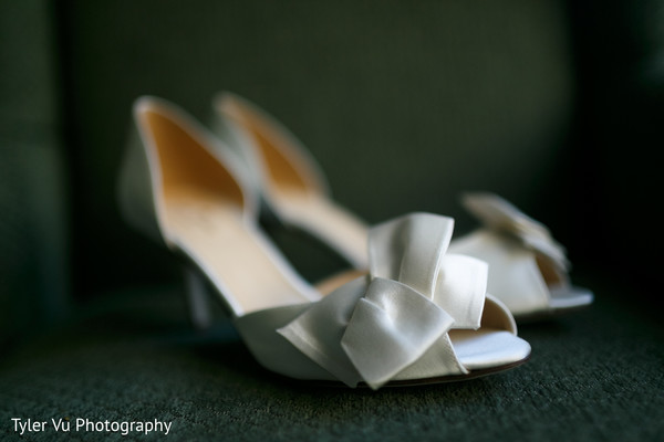 Shoes in Sacramento, CA Indian Wedding by Tyler Vu Photography