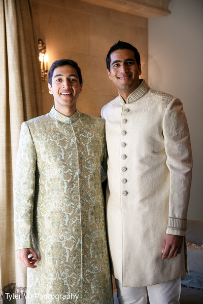 Groom Fashion in Sacramento, CA Indian Wedding by Tyler Vu Photography