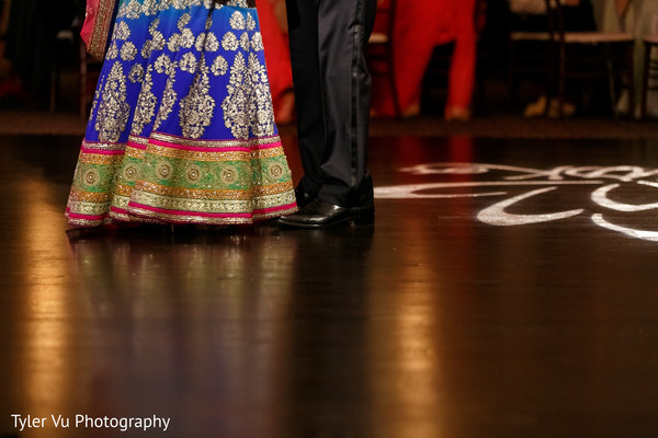 Reception in Sacramento, CA Indian Wedding by Tyler Vu Photography