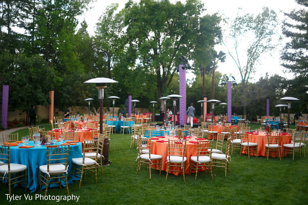 Pre-Wedding Floral & Decor in Sacramento, CA Indian Wedding by Tyler Vu Photography