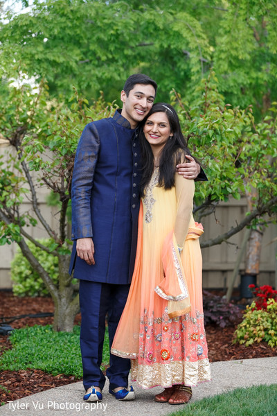 Pre-Wedding Portrait in Sacramento, CA Indian Wedding by Tyler Vu Photography