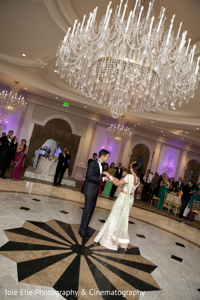 Reception in Rockleigh, NJ Indian Reception by Joie Elie Photography & Cinematography