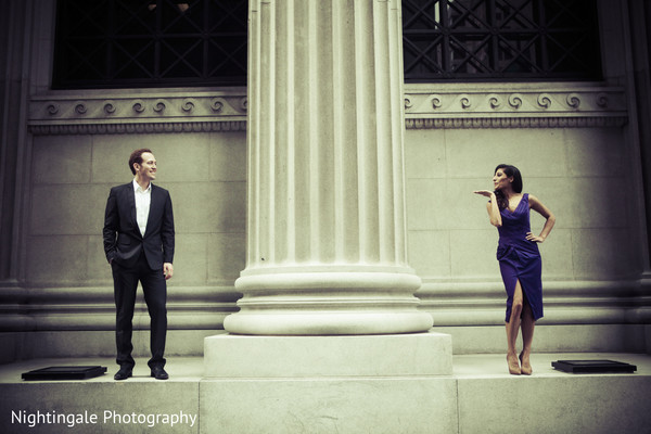 Engagement Portrait in San Francisco, CA Engagement Shoot by Nightingale Photography